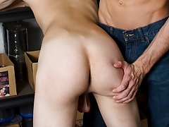 Jasper gets Spanked in the Stockroom - HelixStudios.com