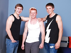 Penniless Straight Boys: Spencer Toddd, Brandon with an increment of Zane