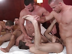 Pretence Me Come by A Spitfire 3 - Jizz Orgy - Johnny Runway - Jimmy Johnson - Charlie Harding - Liam Magnuson - Banneret Brass hat - Riley Banks