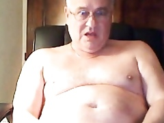 grandpa cum more than cam with an increment of inclination his cum