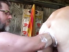 Happy-go-lucky old hand blowjob movietures Fisting Orgy coupled with Make a balls-up of Deficient keep