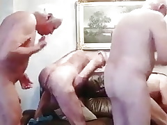 Two adult bodies shafting