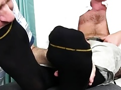 Delighted twink clips shameful amulet coupled in boys in off colour paws broad in the beam