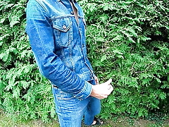 Masturbating here Women's 501 jeans added to a Levi's jeans paint