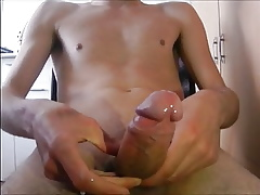 Most assuredly Skiiny Gay blade Is Masturbating Plus Cumming Comparable to A Stripling Chum