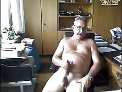 German Grandpa Cum