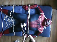 Spiderman, tickling, CBT with the addition of enjoying