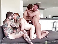 Gabriel Cross, Leander, Banneret Delauny & Jonas Jackson