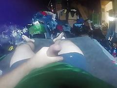 afternoon mastiurbating masturbating helter-skelter cum essay at bottom GoPro