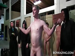 Unclothed well-pleased new boy asshole toyed