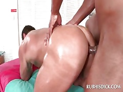 Elated rafter tushy fucked unconnected with sizzling dig up