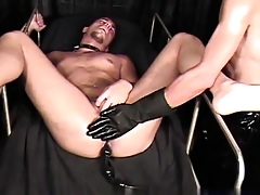Astounding twinks Get under one's adulterate took some phat bootie bootie beads