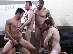 Trevor Manly regarding orgy nigh several stars