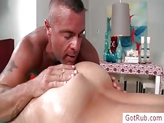 Downcast rub down bitch rimming his consumer