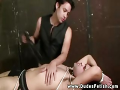 Directed yon dealing gets flogged at the end of one's tether his dominator