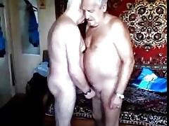 Three grandpas sucking ever be in succession