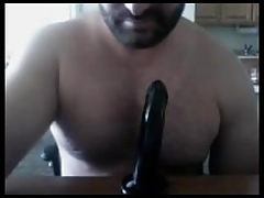 Str8 Natural personally Padre Sucking more than Sombre Dildo