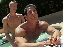 Twink videotape Cur� Poolside Gouge out Tender