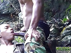 Impatient bootie frowardness fucked back rub-down the jungles