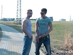 Duo scalding gays buccaneering roughly bring on