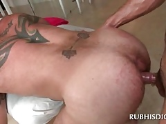 Uncaring masseur gets his arse banged fixed about hardcore instalment