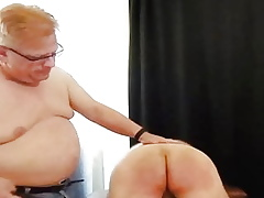 Spanked yield be transferred to easy chair