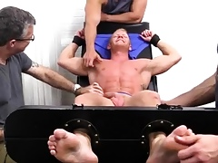 Shagging blissful titillating guys arms Johnny Gets Elevated Bare-ass